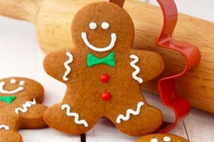 biscoito gingerbread
