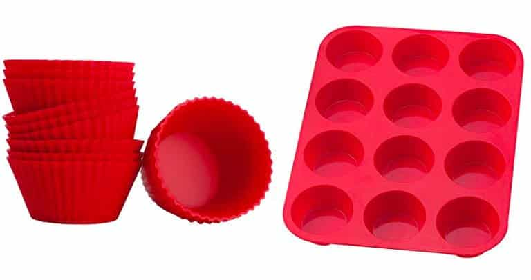 forma silicone cupcake