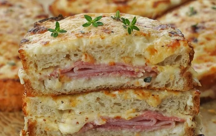 receita Croque Monsieur
